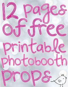 Kostenloser Download Photo Booth Requisiten druckbare Graduierung