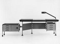 Scrivania spazio Olivetti (BBPR, 1957-60)