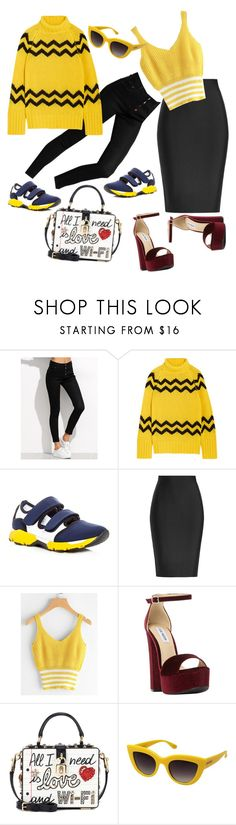 """Untitled #3856"" by sweetyincago ❤ liked on Polyvore featuring Joseph, Marni, Roland Mouret, Steve Madden, Dolce&Gabbana and Perverse"