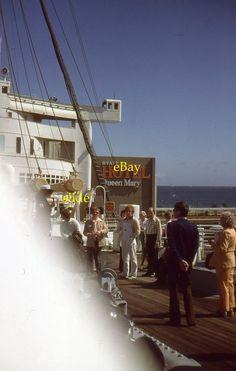35mm Slide Hyatt Hotel Queen Mary Long Beach California 1979 Kodak Kodachrome