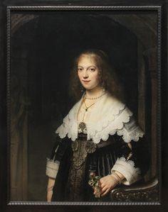 https://flic.kr/p/ERUtG7   Potrait of a Woman, Possibly Maria Trip, Rembrandt Harmensz van Rijin, 1639   www.rijksmuseum.nl/en