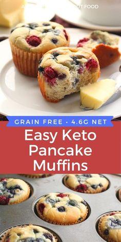 No Carb Breakfast, Keto Breakfast Muffins, Pancake Muffins, Keto Pancakes, Mexican Breakfast, Egg Muffins, Breakfast Sandwiches, Breakfast Bowls, Breakfast Recipes