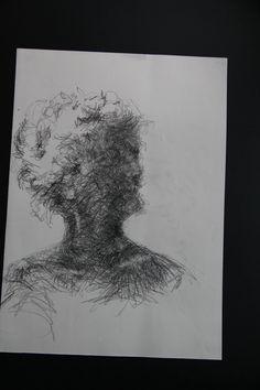 Portræt, tegning