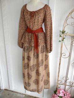 Vintage 1970s Maxi Dress Danali II Hippie by SweetRepeatVintage, $35.00