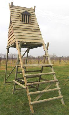 A-frame Kids Cabin/Fort on Stilts