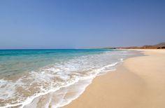 Boa Vista island in Cape Verde