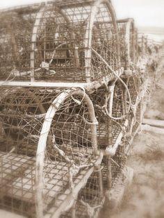 Lobster traps, Cow Head, Gros Morne National Park, Newfoundland. Newfoundland Canada, Newfoundland And Labrador, Gros Morne, Royal Canadian Navy, Lobster Trap, Canadian Things, Canada Eh, Cape Breton, Nova Scotia