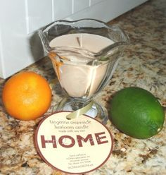 Tangerine Creamsicle Heirloom Candle http://www.in2itionskin.us/scents/room-scents/tangerine-creamsicle-candle.html
