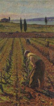 Le Cultivatier - Henri Martin - The Athenaeum