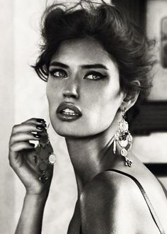 supermodelgif:  Bianca Balti for Dolce & Gabbana