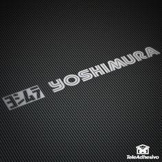 Pegatina Yoshimura #yoshimura #pegatina #adhesivo #tuning #moto #TeleAdhesivo