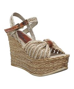 Another great find on #zulily! Natural Whimsical Wedge #zulilyfinds