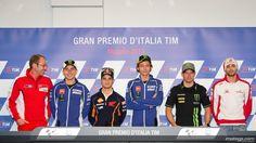 Gran Premio D´Italia TIM Press Conference - It's like looking at a ghost (RIP Marco Simoncelli)