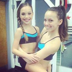 dance moms maddie and payton