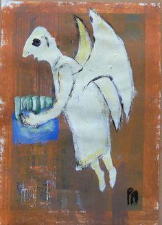 Engel liefert Sekt