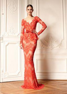 Zuhair Murad lace dress