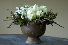 Tulips & Twigs created by Clare Day Flowers
