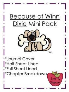 Because of Winn Dixie Mini Pack