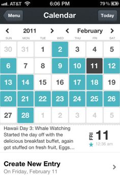 Day One for iPhone (@dayoneapp) - UltraUI   UI Design & Inspiration