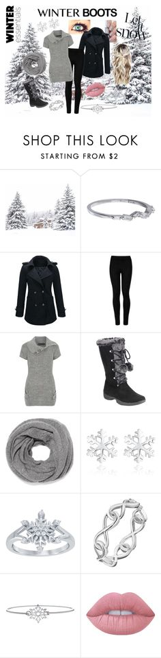 """""""Walk In The Snow"""" by tilduskbreaks ❤ liked on Polyvore featuring Suzanne Kalan, WithChic, Wolford, Mela Loves London, N.Peal, Disney, LA Rocks and Lime Crime"""
