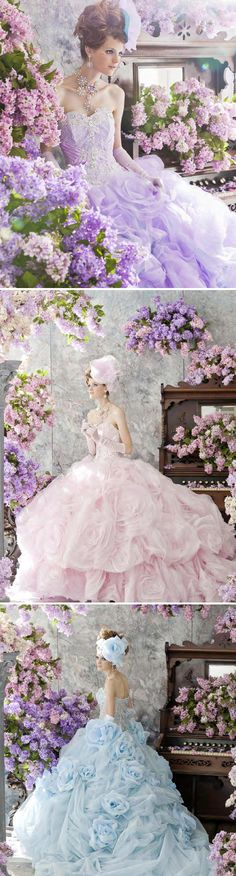 21 Adorable Princess Gowns - Stella De Libero