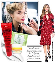 Cara Delevingne's Skin Secrets Lucas PawPaw Ointment Live Live Bee Yummy Skin Food