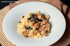 Ricette d'estate:Couscous con salmone, albicocche e prugne secche