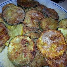 Flora's Southern Fried Squash and Zucchini