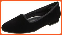 Annie Shoes Women's Tux Flat,Black Suede,8 D US - Flats for women (*Amazon Partner-Link)