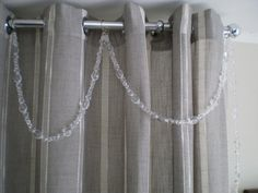 enfeite para cortina