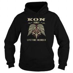KON Family Lifetime Member - Last Name, Surname TShirts