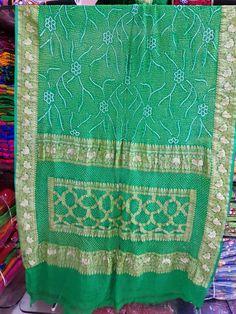 Bandhani Saree, Banarasi Sarees, Saris, Curtains, Indian, Quilts, Shower, Blanket, Rain Shower Heads
