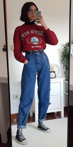 Retro Outfits 39 hipster outfits to rock this season hipster outfits Retro Outfits. Here is Retro Outfits for you. Retro Outfits image about in re. Retro Outfits, Tomboy Outfits, Indie Outfits, Tomboy Fashion, Cute Casual Outfits, 80s Fashion, Fashion Outfits, Vintage Hipster Outfits, 80s Style Outfits