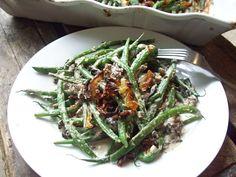 The Urban Poser:: French Green Bean Casserole W/Crispy Shallots (Gaps, Paleo & Vegan options)