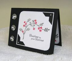 Sharing In Your Sorrow by pam124 - Cards and Paper Crafts at Splitcoaststampers