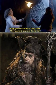 Sylvester McCoy: 7th Doctor and Radagast the Brown!