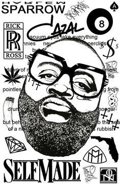 Rick Ross by harlemsparrow.deviantart.com on @DeviantArt