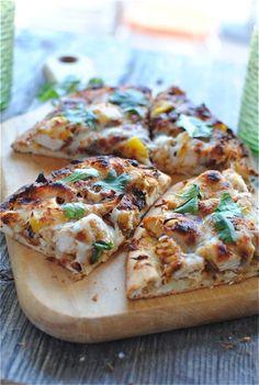 Tandoori Chicken Naan Pizza!