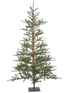 Shop for Vickerman Green Plastic Bed Rock Pine Unlit Artificial Christmas Tree. Get free delivery On EVERYTHING* Overstock - Your Online Christmas Store! Get in rewards with Club O!