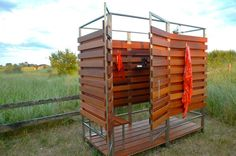 An Outdoor Shower That Disassembles for Winter - NYTimes.com, Home & Garden