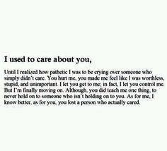 Damn this is deep
