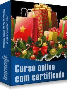 Novo curso online! Prendas de Natal- Como fazer em casa - http://www.learncafe.com/blog/?p=375