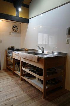 オーダーキッチン施工例 - オーダーキッチン・家具のKitoBito
