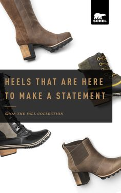 Temperature dropping? Bring it on. Shop the fall collection of beautiful, fall-ready boots made for any occasion by SOREL.