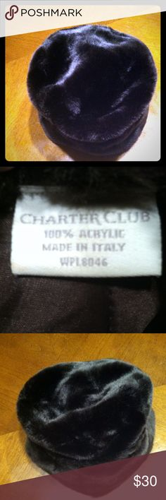 Charter Club Women's Winter  Hat -Made in Italy Charter Club Women's Winter  Hat -Made in Italy- Like New - Bundle discount or Make an Offer Charter Club Accessories Hats