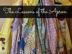 The Lessons of the Apron - Kindred Grace