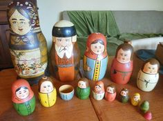Really old Russian Dolls, More info, how old, artist...? | Collectors Weekly