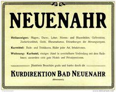 Original-Werbung/ Anzeige 1910 - BAD NEUENAHR - ca.180 x 120 mm