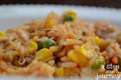 Cookbook Challenge – Chicken Fried Rice | A Step In The Journey