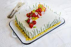 """Pastel """"sandwich"""" de verano. Fiesta - La Cocina de Frabisa La Cocina de Frabisa"""